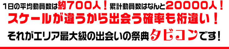 日本最大スケールのメガ合コン