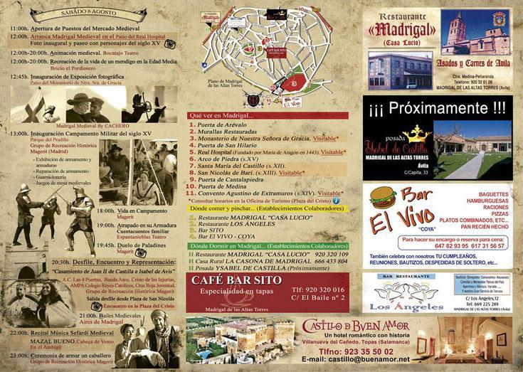 Programa de Madrigal Medieval