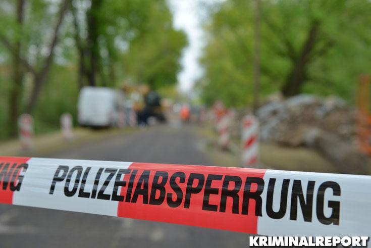 Polizeiabsperrung.|Foto: SYMBOLBILD /Kriminalreport