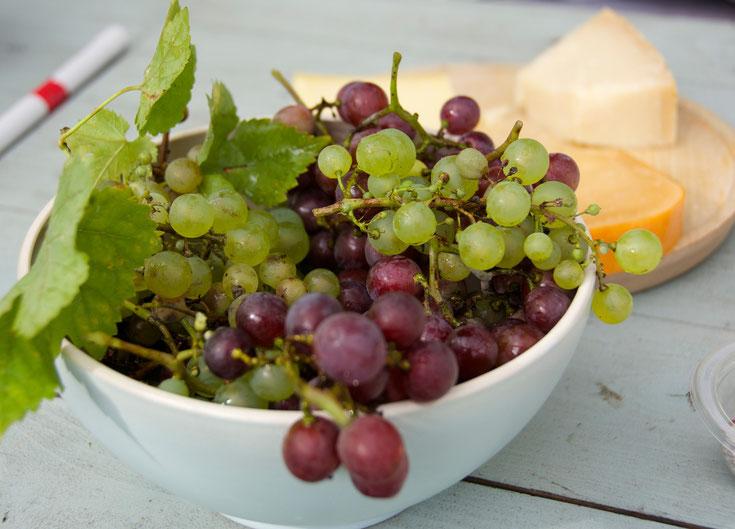 Wilder Wein aus Uli´s Garten :-))