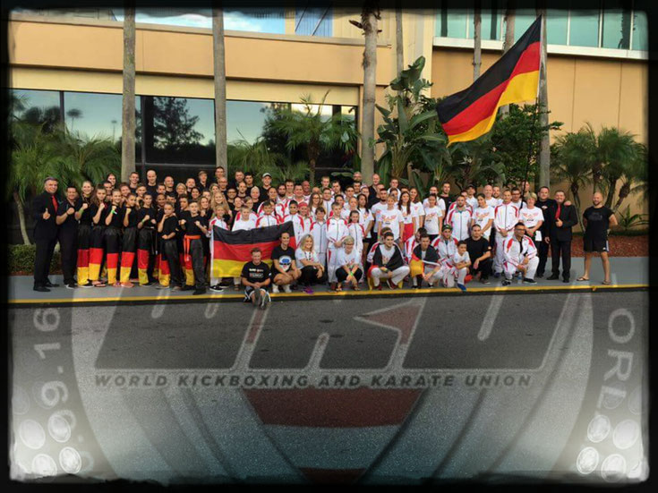 WKU Nationalmannschaft Deutschland, Erol Alp, Klaus Nonnemacher, Gregor Bär, Pino Sassano, Oliver Mainusch, World Kickboxing and Karate Union