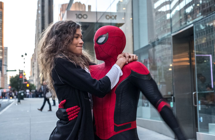 Spider-Man mit MJ in New York