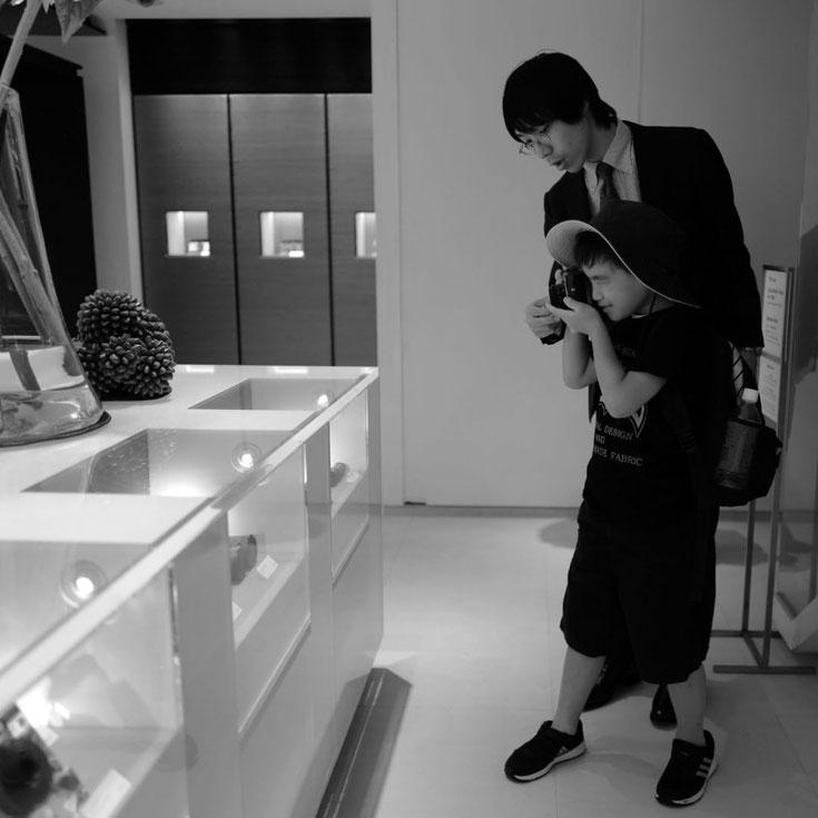 写真:Leica 銀座本店内でのレッスンの様子