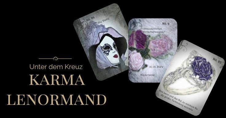"Karma Lenormand ""Unter dem Kreuz"" von Dagmar Densdorf"