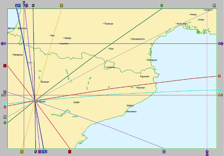 Astrocartografía y Girona