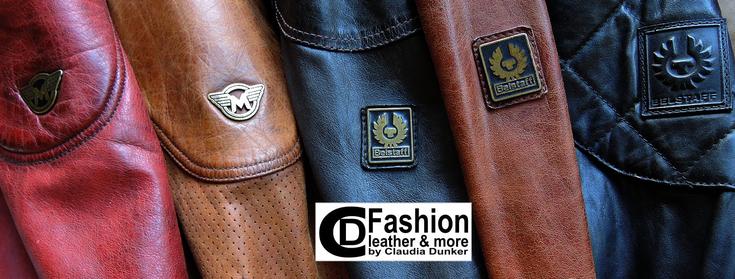 Belstaff und Matchless Jacken in Leder original im Sale