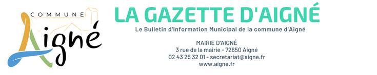 aigné bulletin information municipal