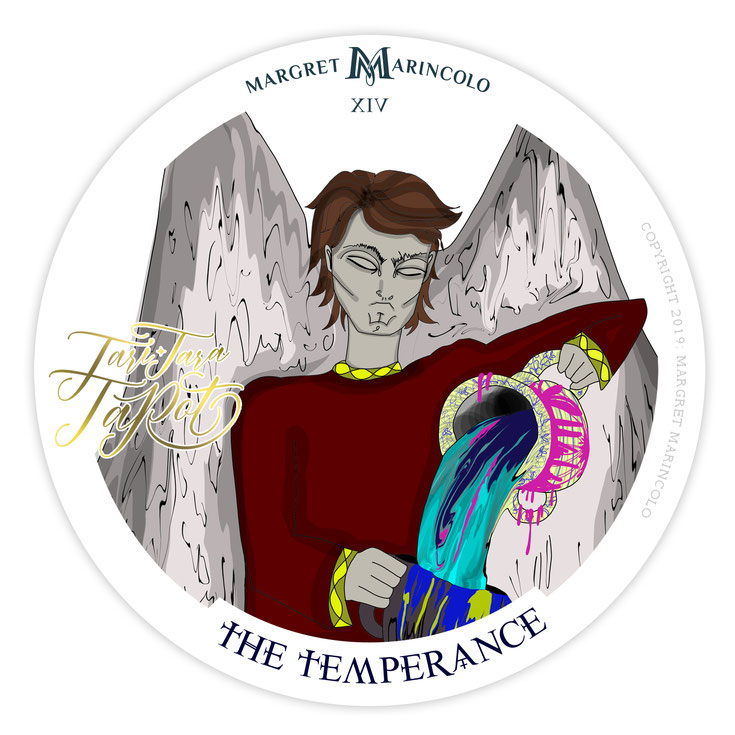 die-maessigkeit-14-the-temperance-im-tarot
