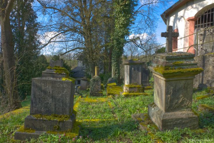 Historischer Friedhof von 1581 in Weilburg