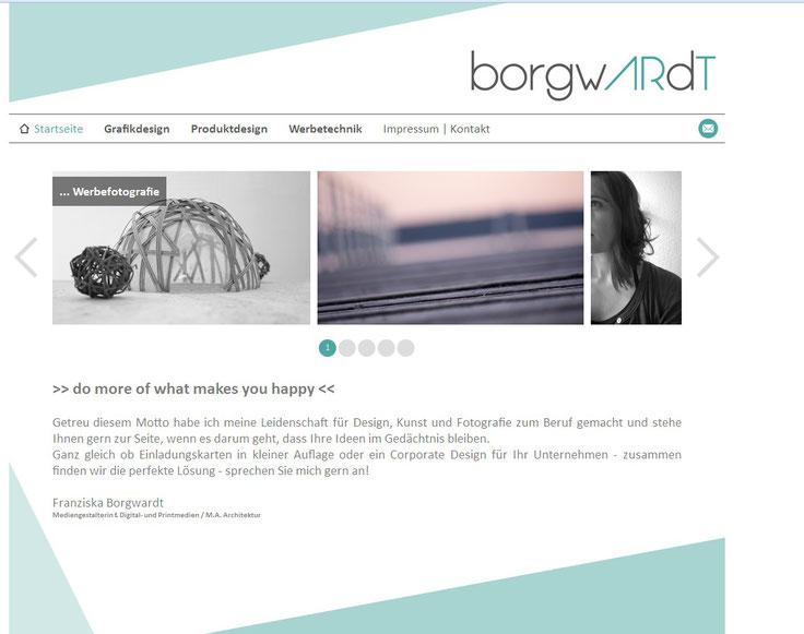Franziska Borgwardt, Borgwardt, Grafikdesign, Mediendesign, Rostock, Bremervörde, Benitaljo, Visitenkarten,