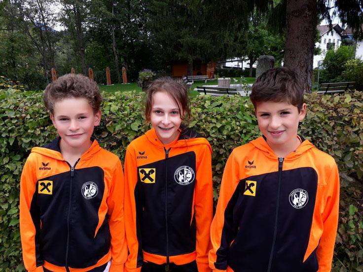 v.l.n.r.: Moritz Fuchs, Melanie Winkler und Philipp Wieser