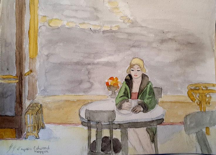 D'après Edward Hopper