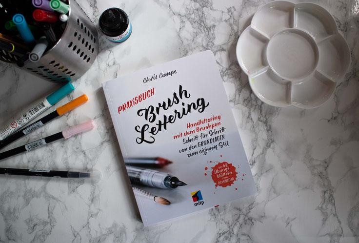 Praxisbuch Brushlettering Cover