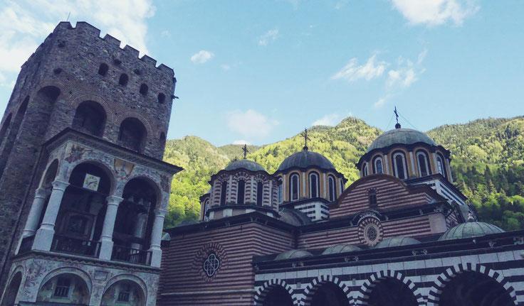 bigousteppes balkans bulgarie monastère rila montagne