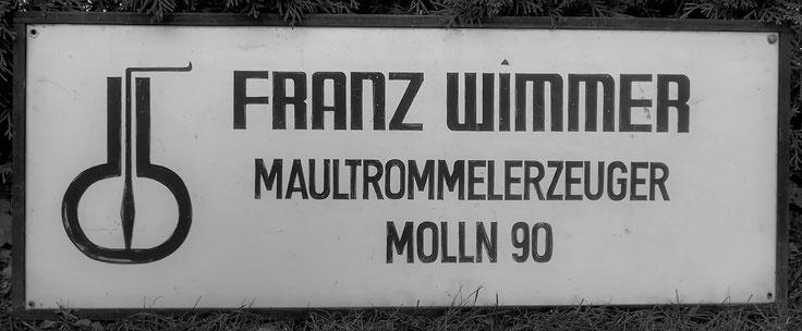 Wimmer Jew´s Harp manufacturer Molln