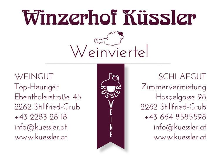 Impressum Winzerhof Küssler