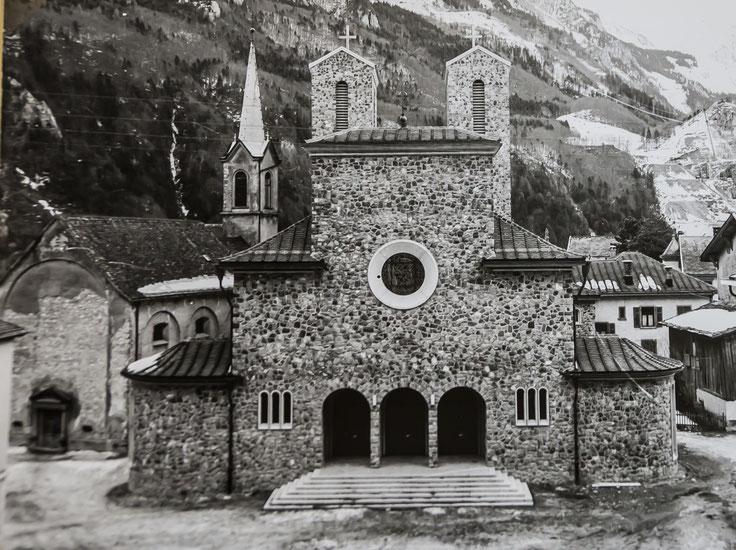 neue Hilariuskirche und grosse Kapelle, 1935