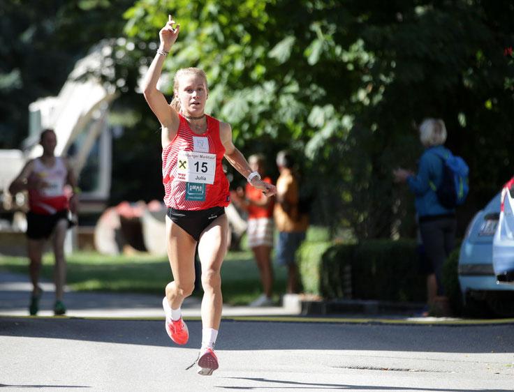 Julia Mayer laufen Wien Österreich Leichtathletik