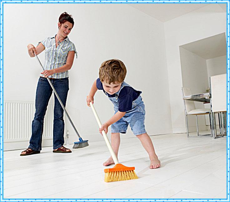 Днем, картинки уборка в квартире для детей