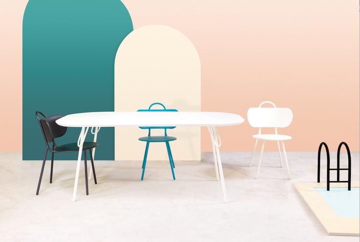 Nouveauté 2018 : Table à manger pour 6 personnes