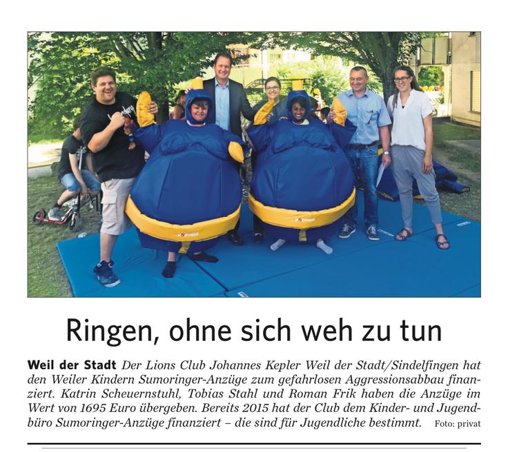 Leonberger Kreiszeitung vom 31.08.2019