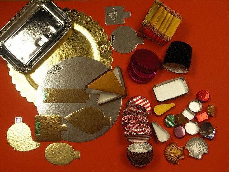 Cartonaje, bandejas, capsulas y papel especial