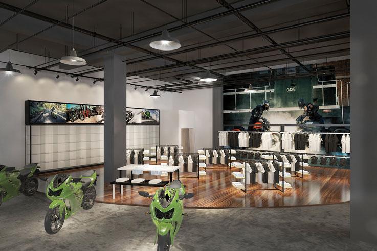 中国の店舗デザイン案件 All rights reserved Launch Shanghai