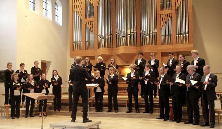 """Mit """"VOCanimals"""" in der Himmelfahrtskirche, München-Sendling"""