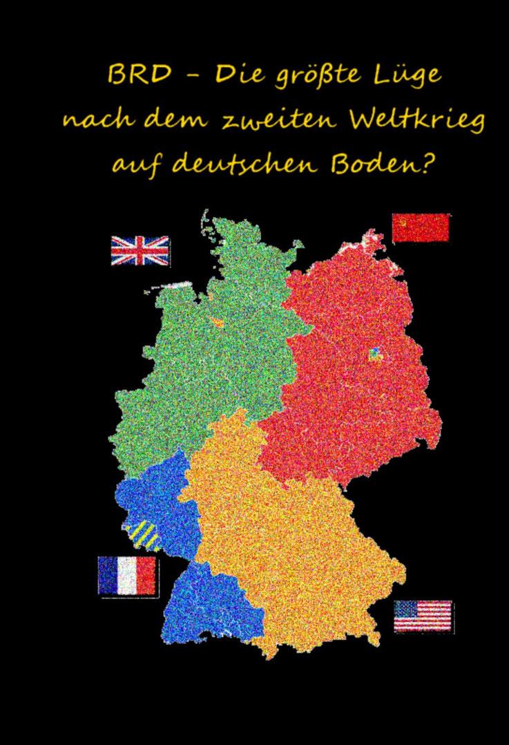 BRD Die größte Lüge nach dem zweiten Weltkrieg auf deutschem Boden Buch Rainhard Roloff