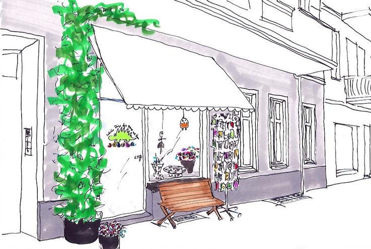 Laden Joloba Proskauer Straße 3 10247 Berlin Keramik Glasobjekte Kunst Radierungen Schmuck Textilien Onlineshop