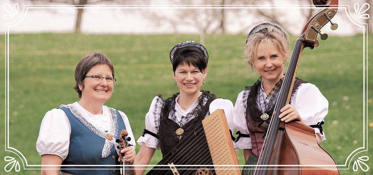 Ruth Fanderl , Brigitte Meier , Elisabeth Hasler , Streichmusik , Appenzell , Frauen