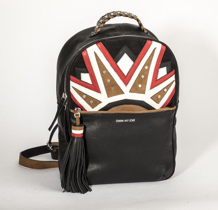 Rucksack aus aus hochwertigem Leder und super Verarbeitung