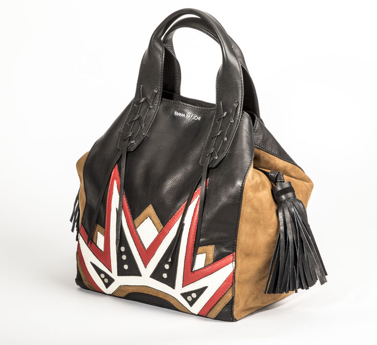 Shopper Tasche - Mini Shopper - aus Leder. Die neue IT BAG von EMMA MY LOVE.