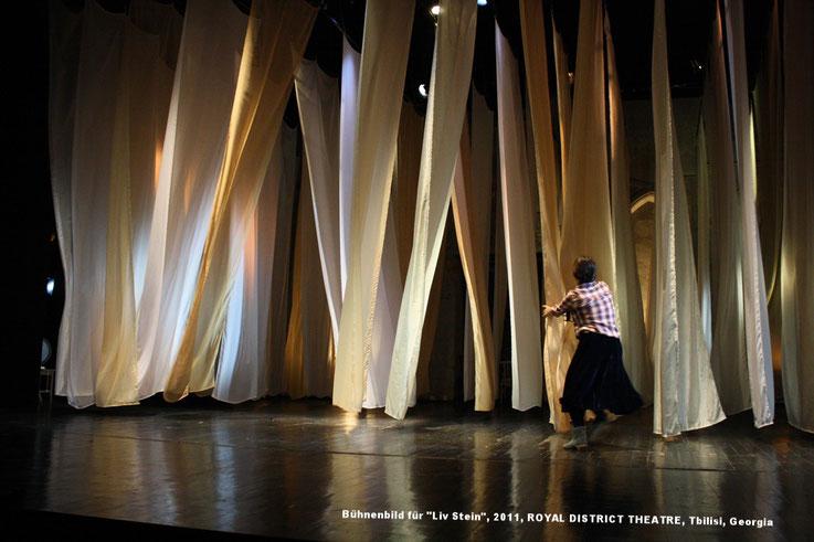 Bühnebild, stage design, Stoffe, ROYAL DISTRICT THEATRE