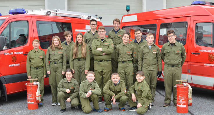 Feuerwehrjugend Hainersdorf 2018
