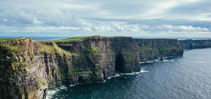 Irlands raue Küste