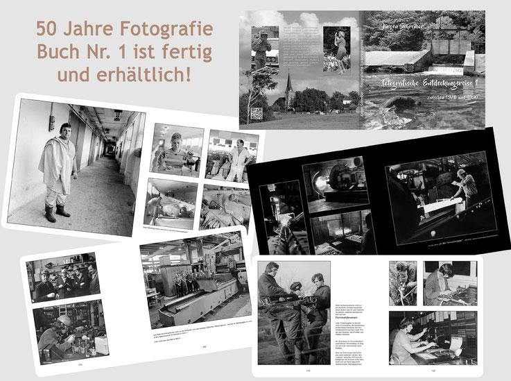 Fotografie zum Anfassen: Band 1 aus 50 Jahren Fotografie ist ab sofort erhältlich! Mehr Infos: Klick auf´s Bild