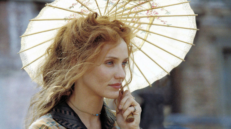 Cameron Diaz Starring / Sunshade / Umbrella / Feminim Actor from Gangs of New York
