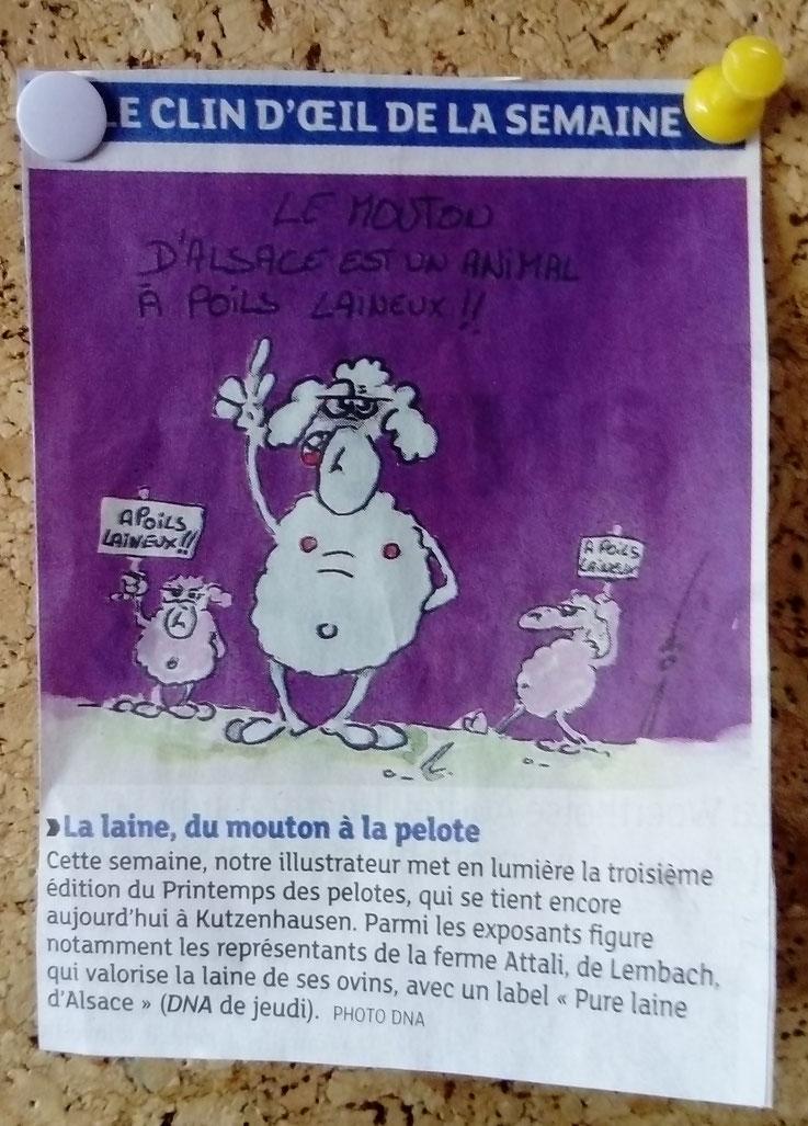 Dernières Nouvelles d'Alsace - mars 2017