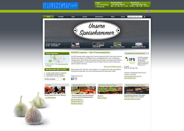 Homepage Rungis Express