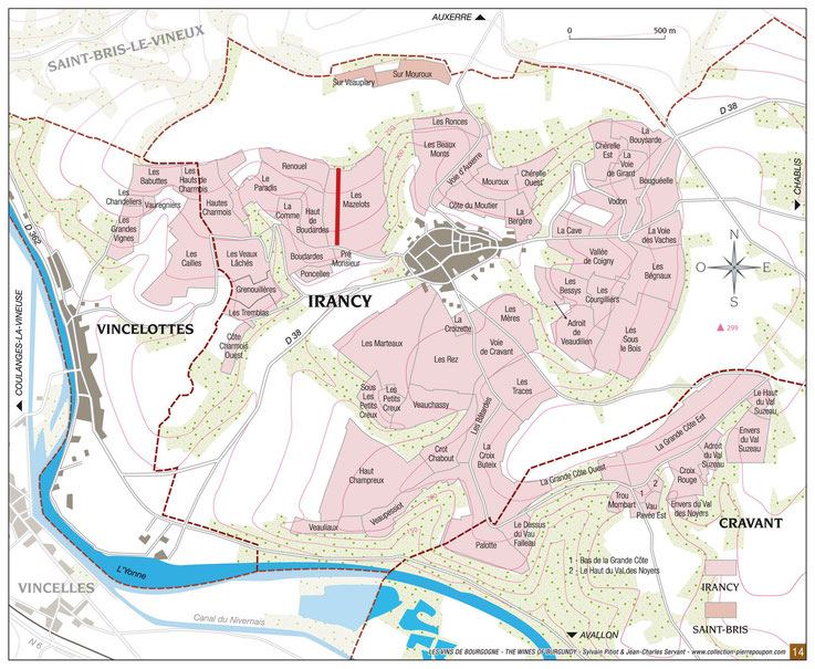 map Irancy Plots names