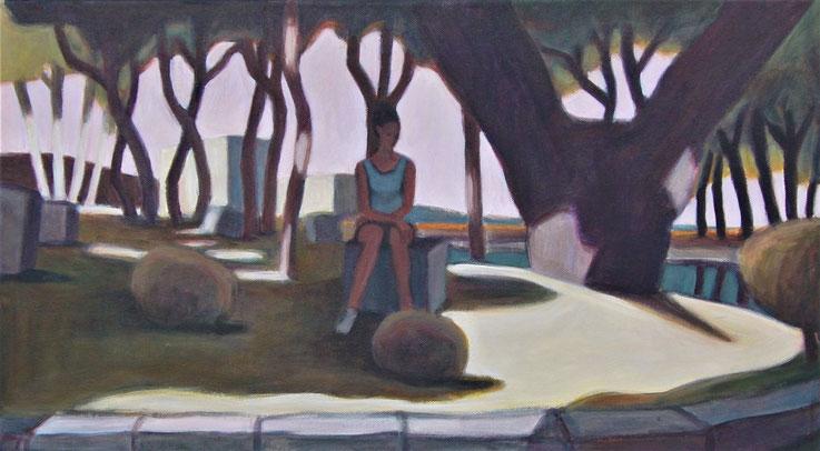 "philipp christoph haas | ""landscape"", akryl auf leinwand, 2016"
