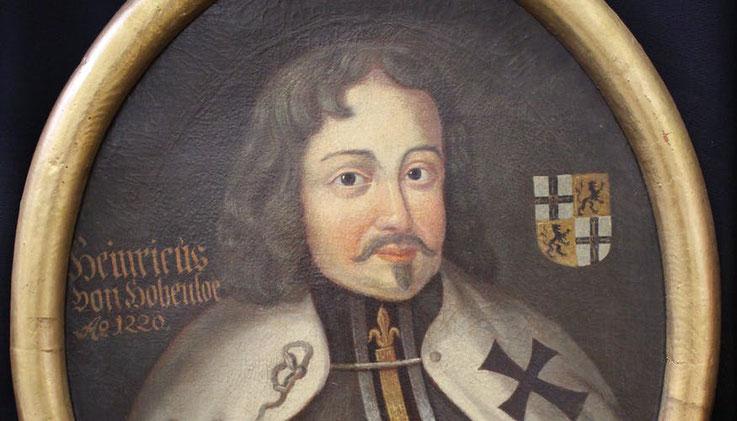 Heinrich von Hohenlohe als Hochmeister des Deutschen Ordens auf einem Gemälde des 17. Jahrhunderts in den Sammlungen des Museums (Foto: Deutschordensmuseum)