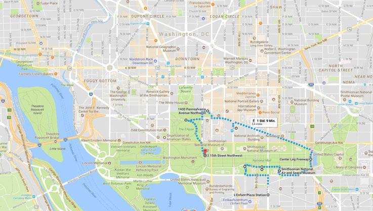 Washington, D.C. (Google Maps)