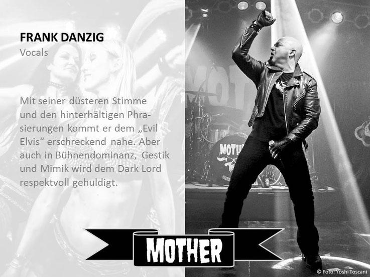 Bandmitglied Frank Danzig