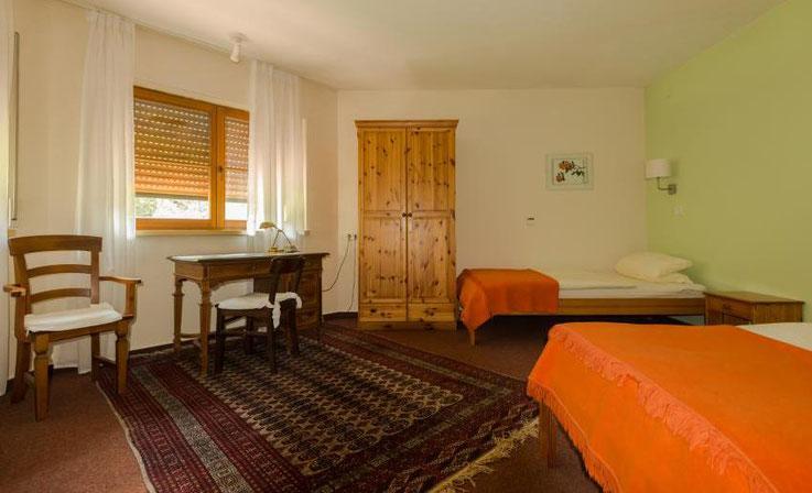 Gästezimmer, Ferien ohne Funksmog, elektrosmogfreier Urlaub, strahlungsfrei