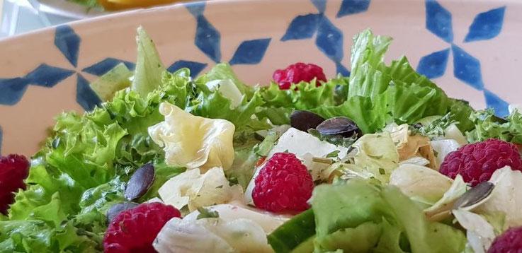 vegetarische Küche im elektrosmogarmen Hotel, Seminarhaus, Tagungshaus
