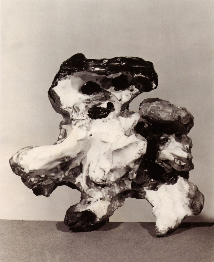 Asger Jorn, Untitled (1954) Glazed Ceramic, Dimensions and Whereabouts Unknown From: Ursula Lehmann-Brockhaus: Asger Jorn in Italien. Werke in Keramik, Bronze und Marmor 1954-1972. Silkeborg 2007, Fig. 41 (Photography © Fondazione Giuseppe Mazzotti 1903)