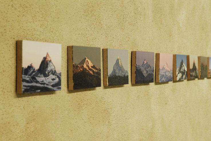 Felix Rehfeld, Berge, Malerei