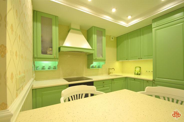 Гагарина, 17-361 (г. Березовский) кухня-гостиная_2